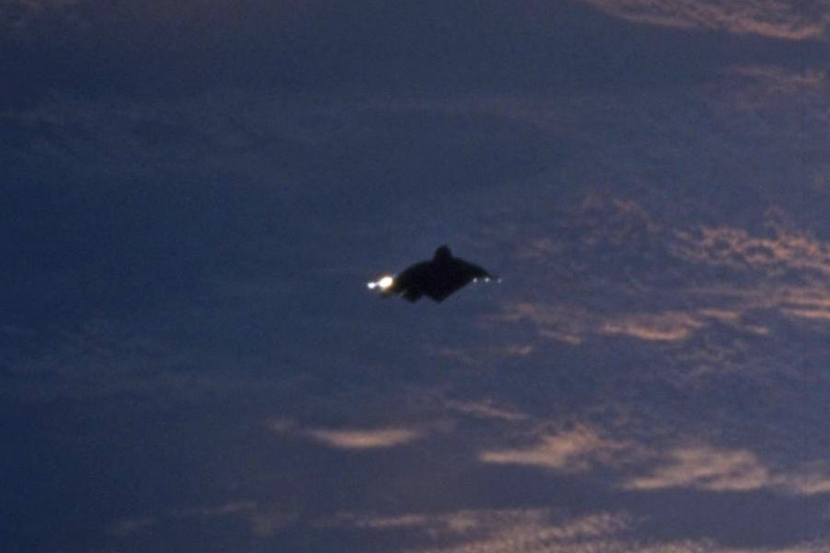 Another photo of the mystery satellite