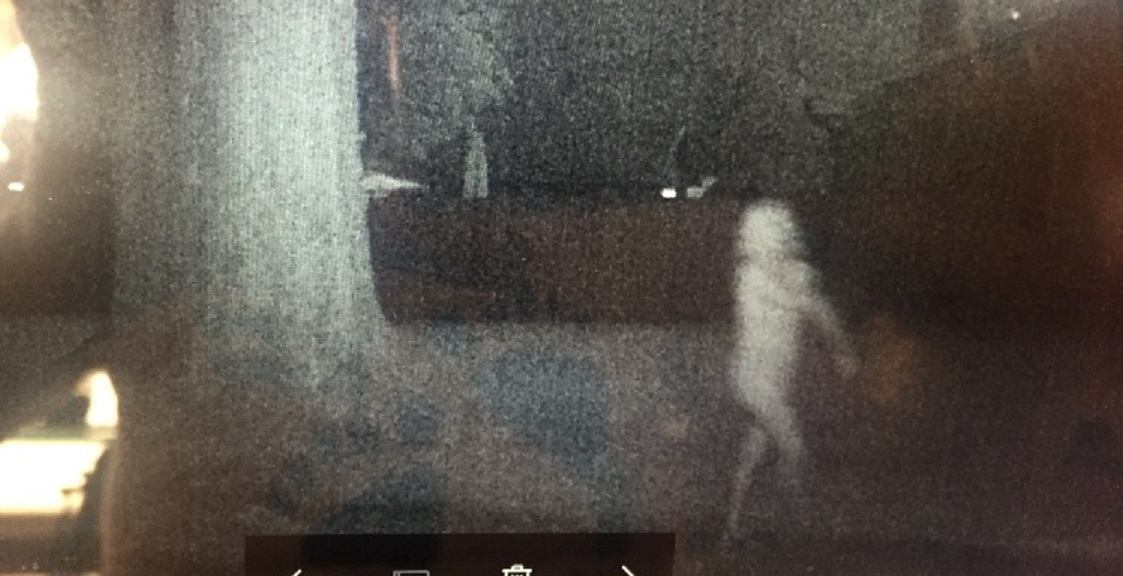 Naked ghost caught on motion sensor camera - Paranormal Globe