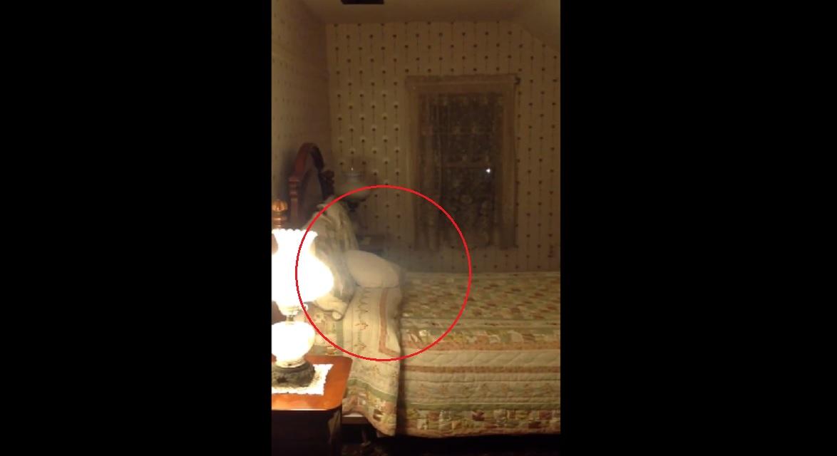 Unexplained Mist Filmed At Lizzie Borden House